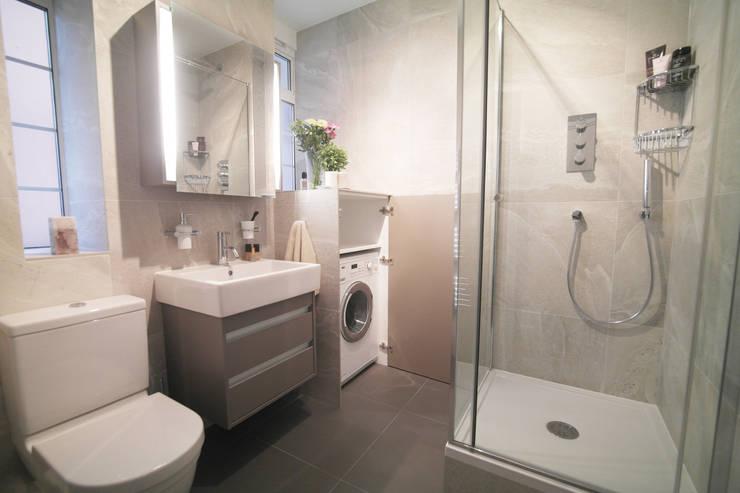 Integrer machine a laver dans salle de bain maison - Integrer machine a laver dans salle de bain ...