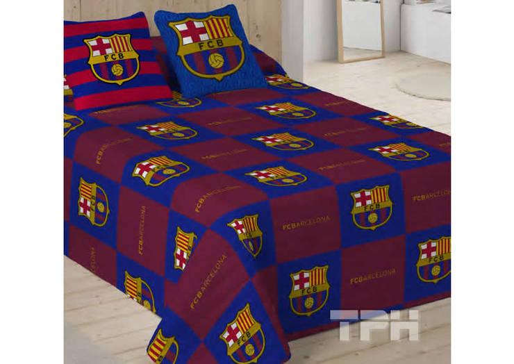 Ropa de cama f tbol club barcelona de tph textil para hosteler a homify - Ropa de cama barcelona ...