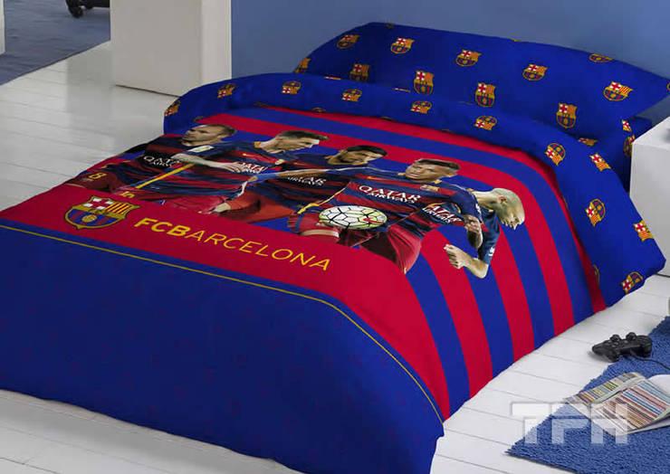 Ropa de cama f tbol club barcelona de tph textil para - Ropa de cama para hosteleria ...