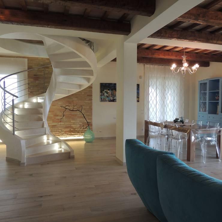 Rustico moderno la combinazione vincente for Casa moderna ristrutturata