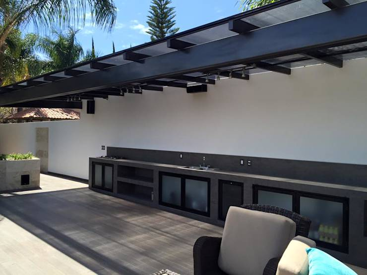 Terrazas de estilo translation missing: pe.style.terrazas.moderno por Arki3d