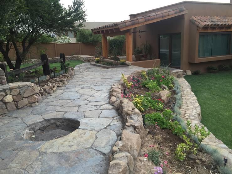 Jardines 8 maneras bell simas de decorarlos con piedra Decoraciones para jardines de casas