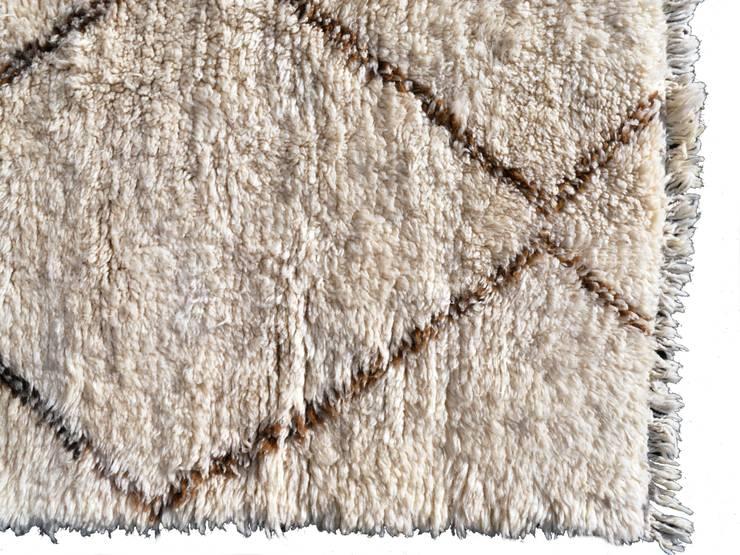 14724 Beni Ouarain  Ourain Berber Teppich Marokko 300 x