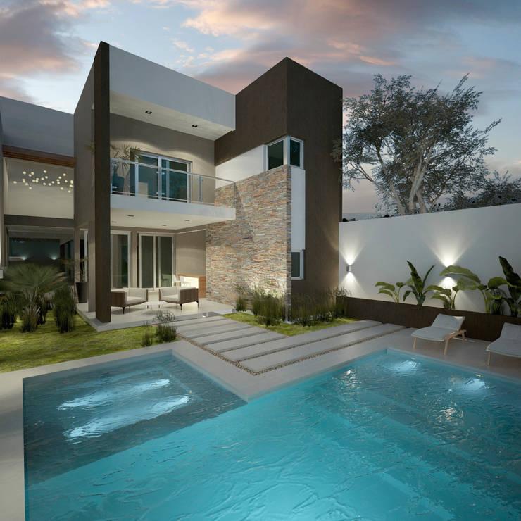 Casa liniers de filippis dip dise o y construccion homify for Casa moderno kl