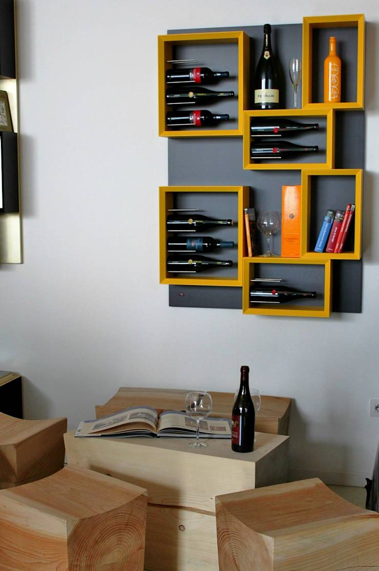 Portabottiglie da parete dal design moderno Esigo 5 ESPerience Esigo ...