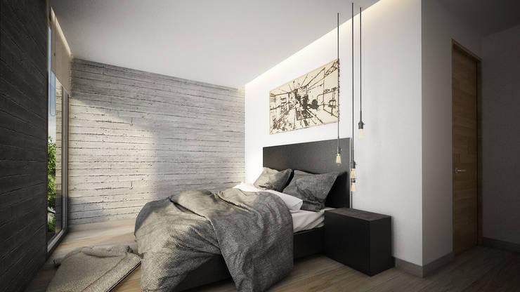 13 ideas para que una casa peque a luzca moderna y con for Recamaras blancas modernas