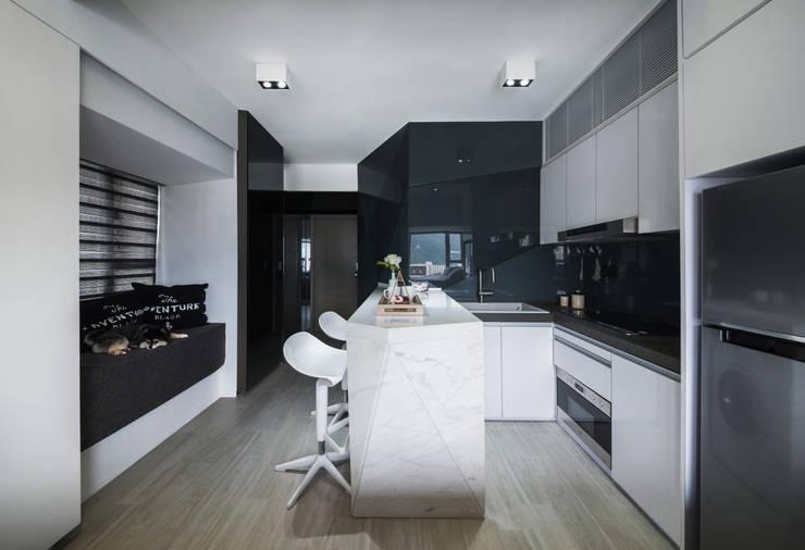 10 Bijzondere Zwart Wit Keukens