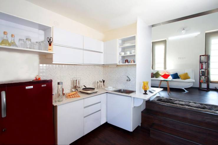minimalistic Kitchen by Urban Shaastra Design Studio