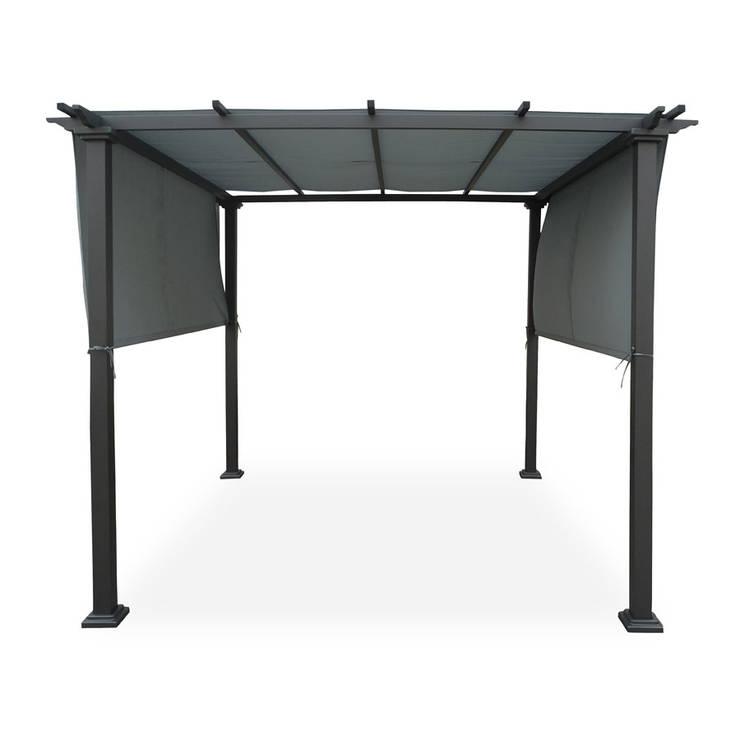 9 geniale pavillons die das beste aus deinem garten. Black Bedroom Furniture Sets. Home Design Ideas