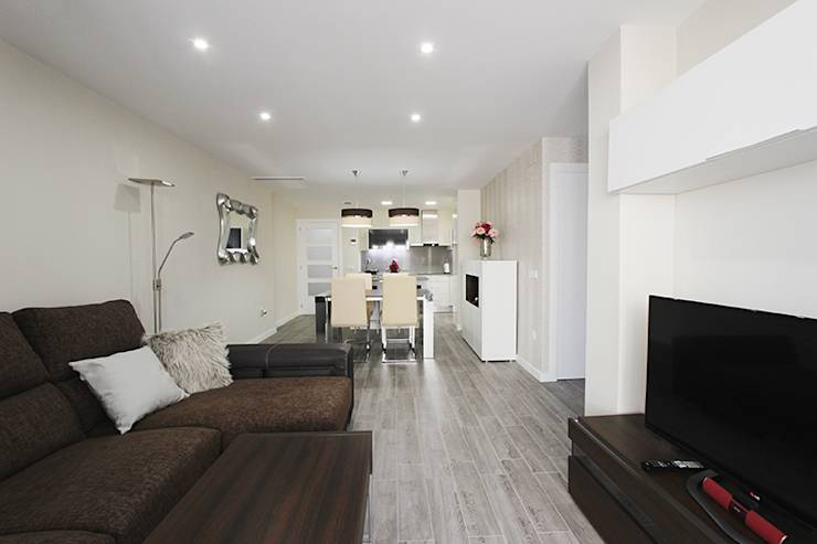 modern Living room by Novodeco