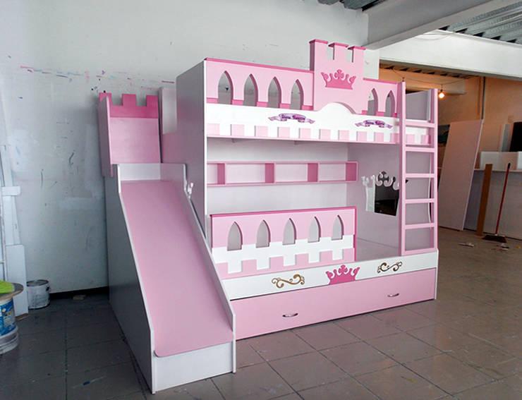 Literas y muebles juveniles de camas y literas infantiles - Caballeros y princesas literas ...