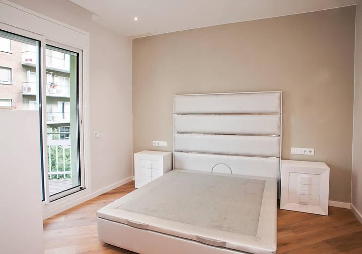 Una ristrutturazione che trova la perfezione nella semplicit - Di che colore dipingere la camera da letto ...