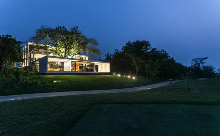 17 casas que respetan la naturaleza modernas y fabulosas for Casa minimalista villahermosa