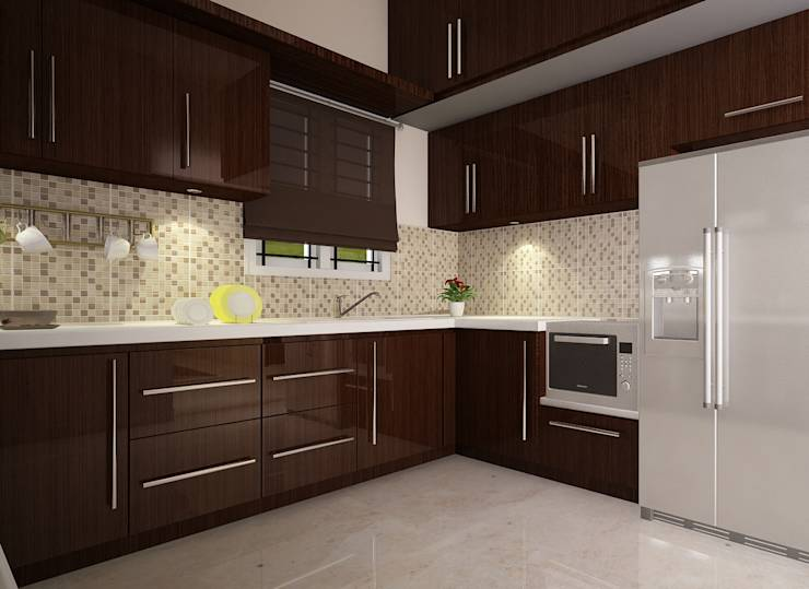 18 beautiful and functional l shaped kitchens designed for for Kitchen design visualiser
