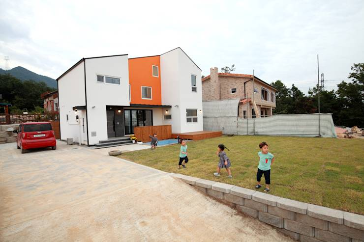 translation missing: tw.style.庭院.modern 庭院 by 주택설계전문 디자인그룹 홈스타일토토