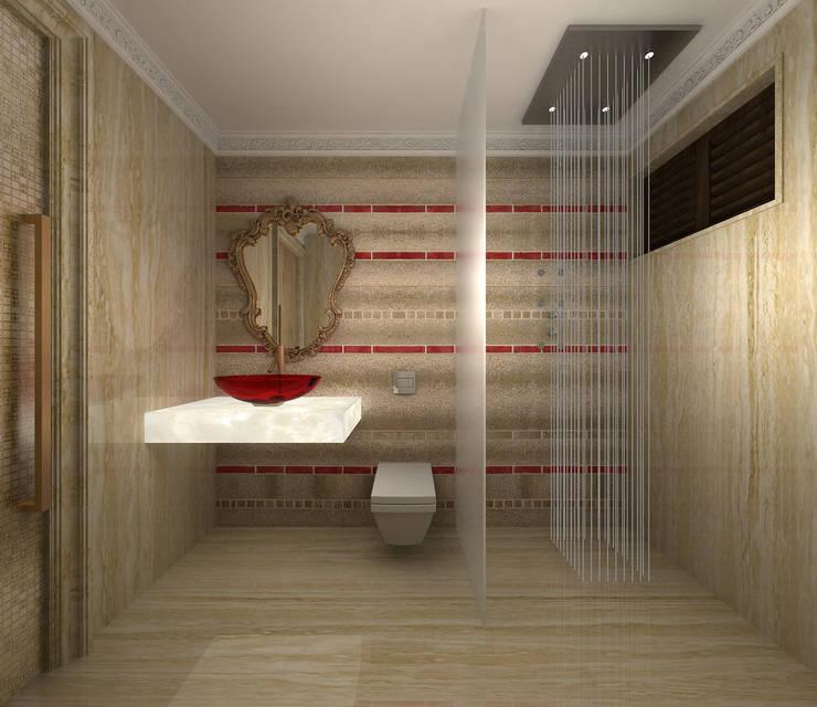 Baños de estilo translation missing: mx.style.baños.clasico por Depanache Interior Architects