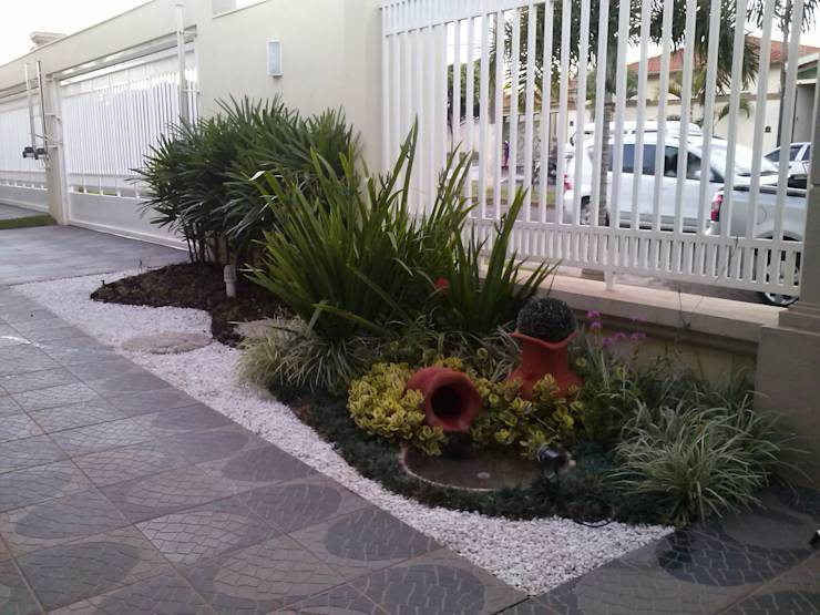 25 jardins que se ver o fabulosos na entrada de sua casa for Homify jardines pequenos