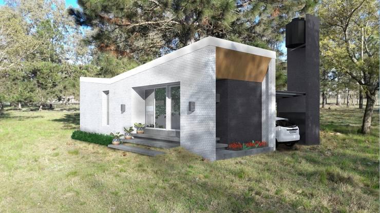 VHA Arquitectura: modern tarz Evler