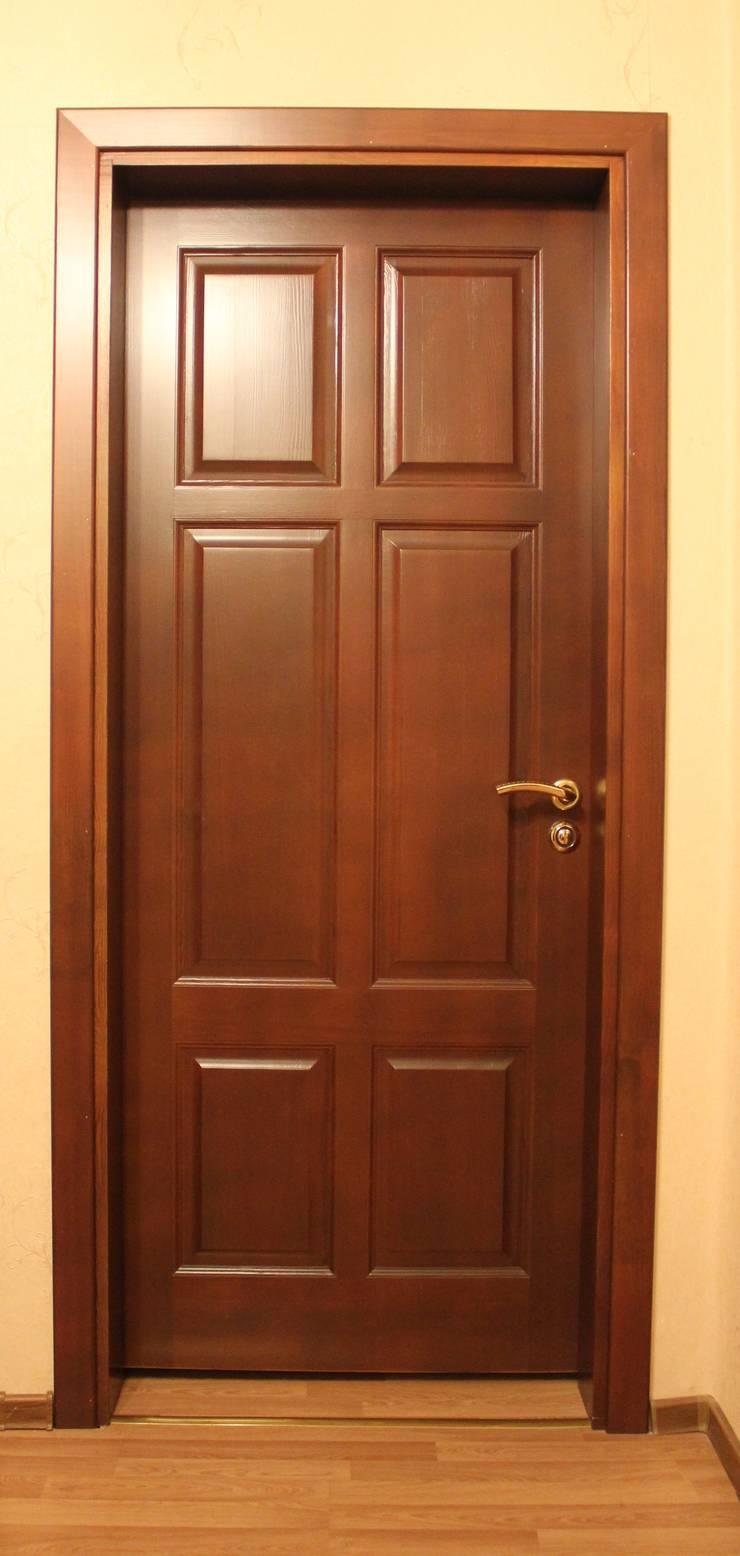 двери входные из сосны 190
