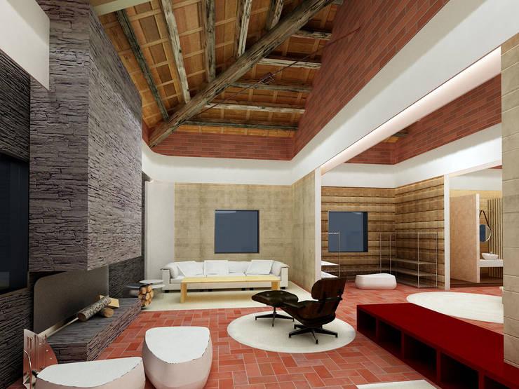 Salas de estar modernas por FORMICA Venezuela