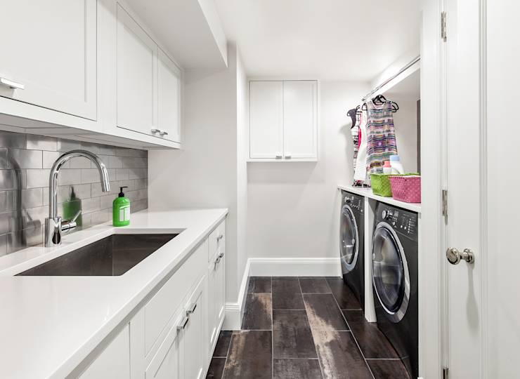 12 idee fantastiche per una zona lavanderia da sogno - Zona lavanderia ...
