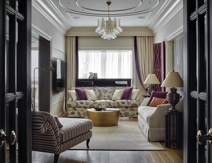classic Living room by Archiprofi