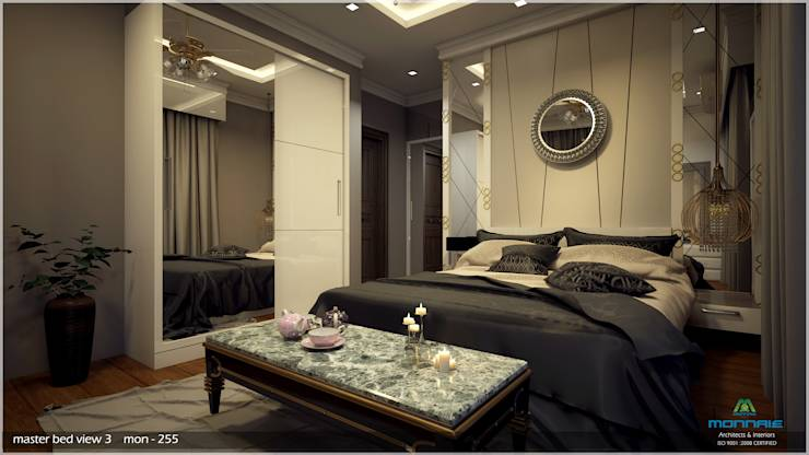Interiors in Mixed Style...: modern Bedroom by Premdas Krishna