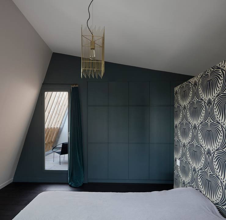 moderne Schlafzimmer von agnès&agnès architecture