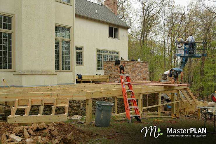 Construction:   by MasterPLAN Landscape Design
