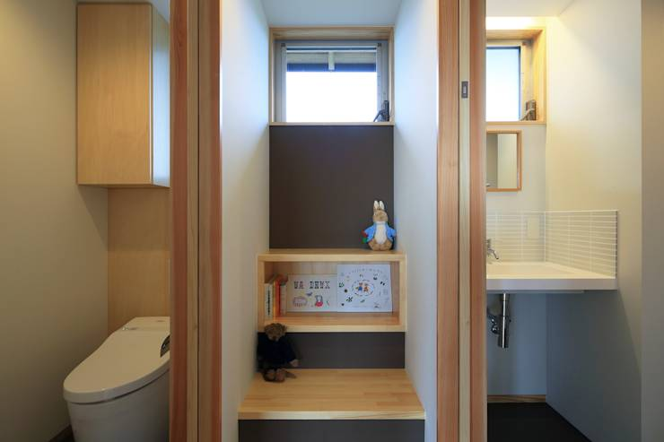 図書コーナー: ㈱ライフ建築設計事務所が手掛けたtranslation missing: jp.style.多目的室.minimalist多目的室です。