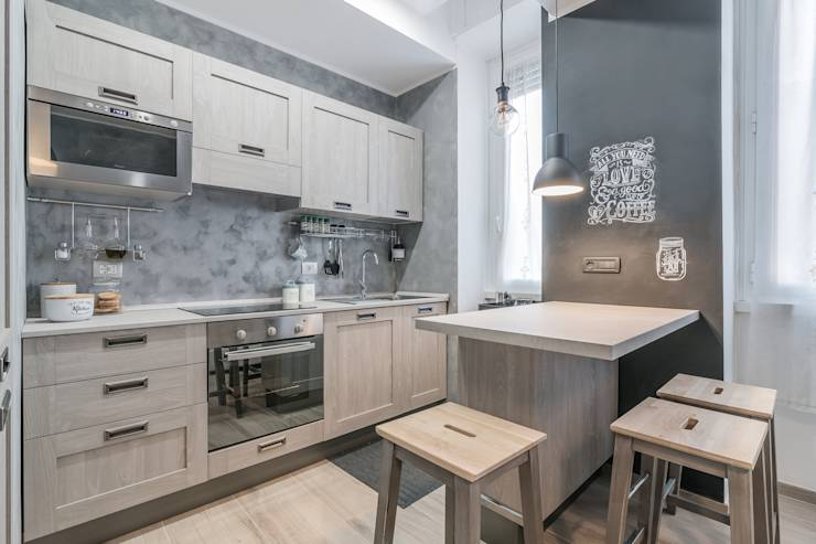 7 piccole cucine da vedere prima di ristrutturare la tua - Cucine all americana ...