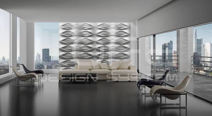 dekorative 3d wandpaneele loft design system von loft. Black Bedroom Furniture Sets. Home Design Ideas