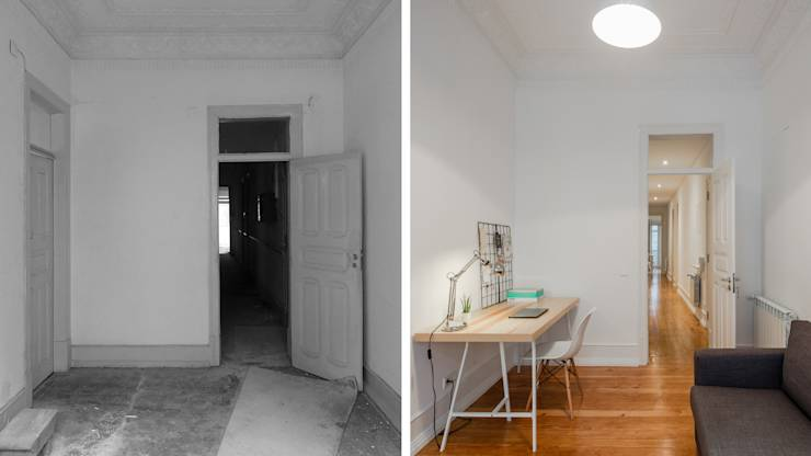 Escritório | Office: Quartos minimalistas por FMO ARCHITECTURE