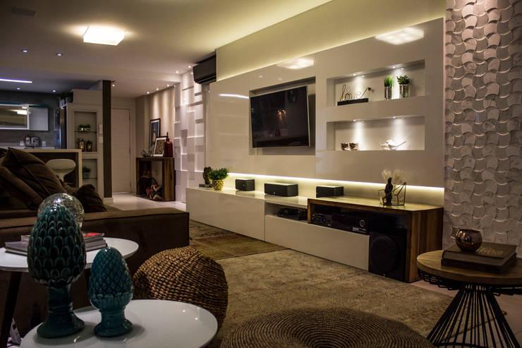 12 incredibili foto di un appartamento super moderno for Concetti di soggiorno