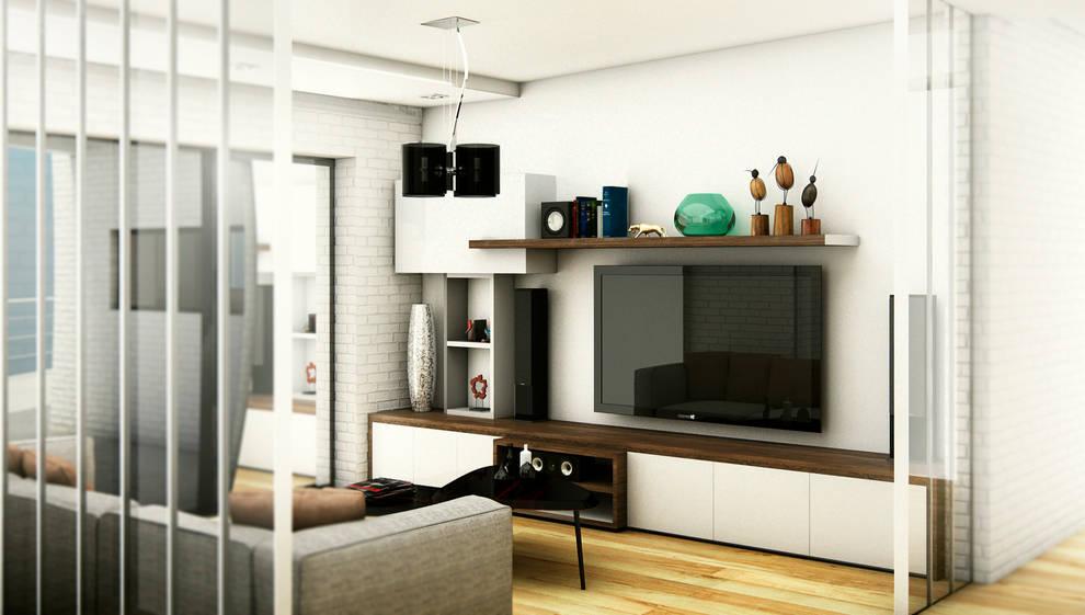 INTERIOR-PLAYROOM: Salas multimedia de estilo moderno por ARQUETERRA