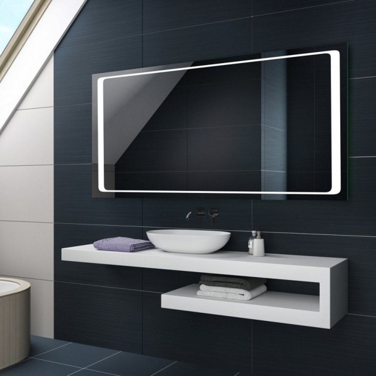 espejos de ba o con luz led integrada de centro espejos