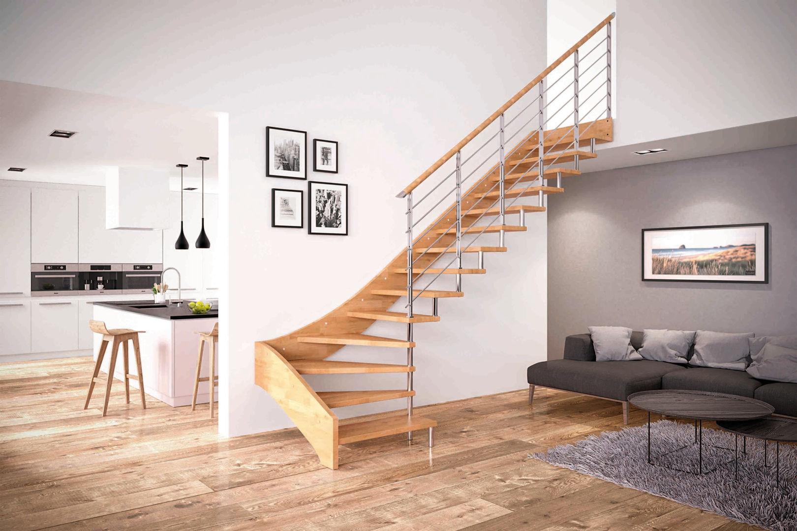 Top 10 tipi di scale da interni! FJ26
