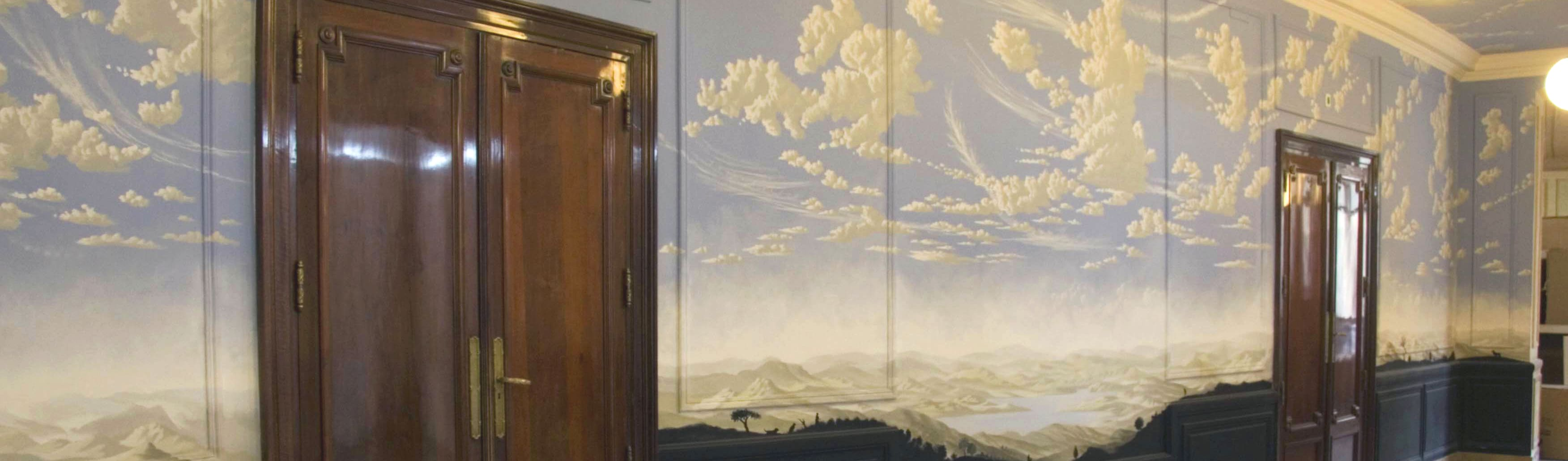 Jorge Fin. Murals