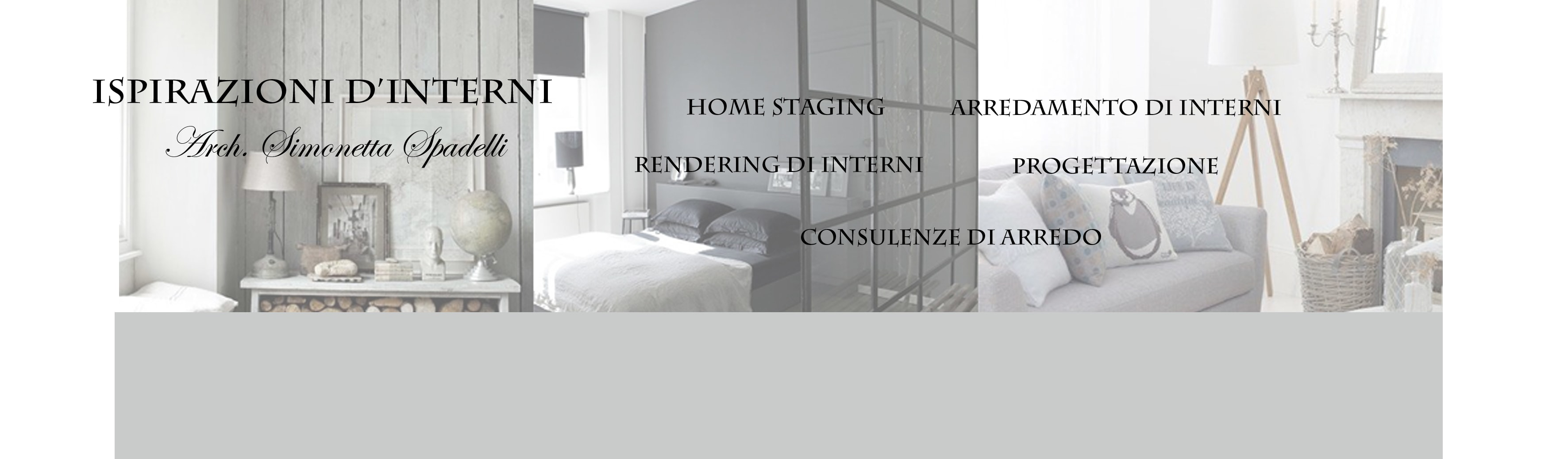 Ispirazioni d'interni Arch. Simonetta Spadelli