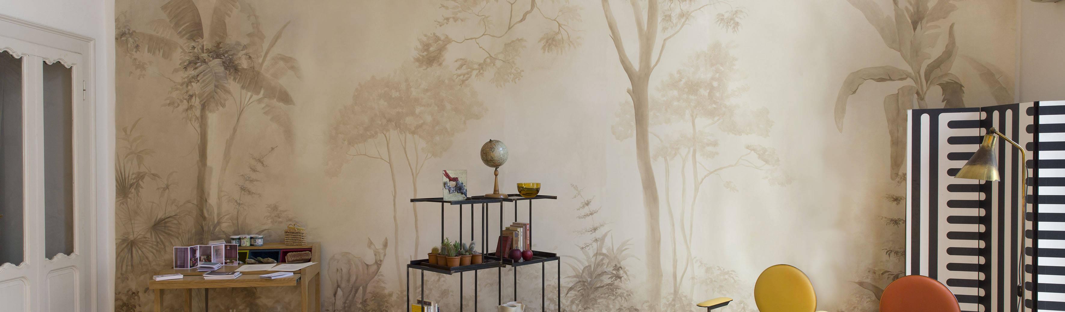 Picta wallpaper decoratori d 39 interni a milano homify - Decoratori d interni ...