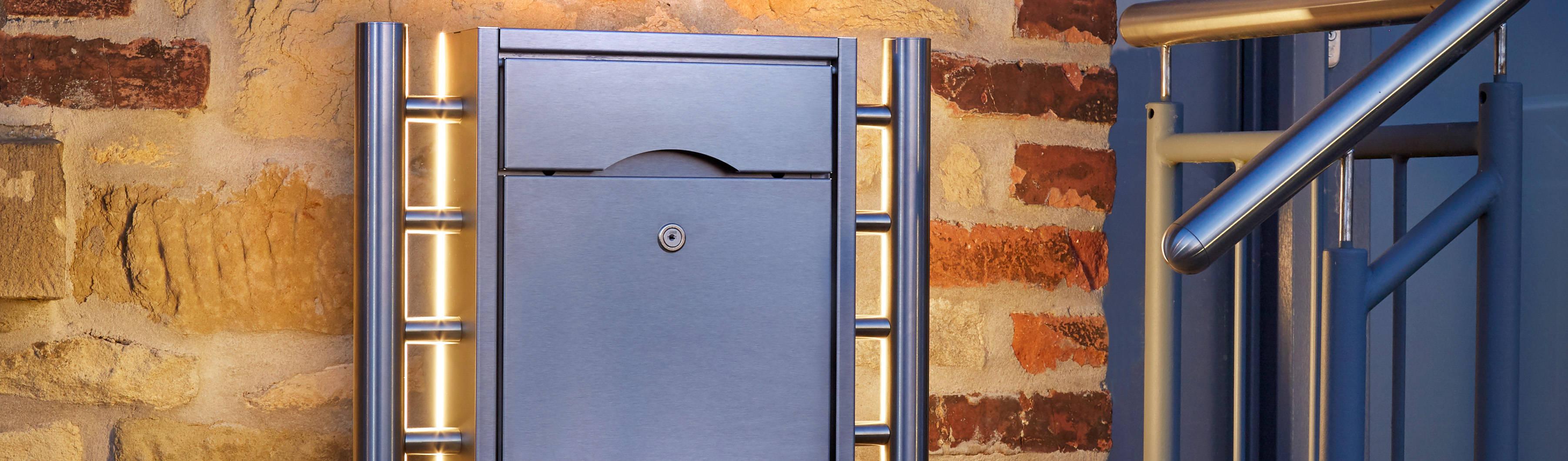 Aufputz Briefkastenanlagen Ob Mit Klingel Hausnummer Kamera Oder