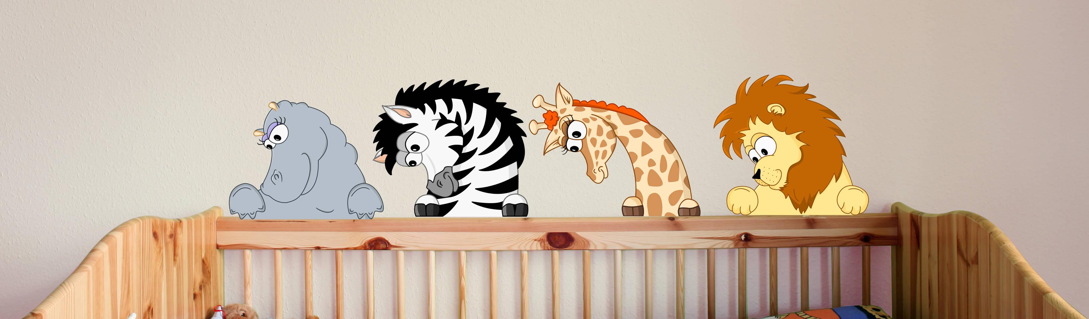Türschilder - Tiere fürs Kinderzimmer von MHBilder-Design | homify