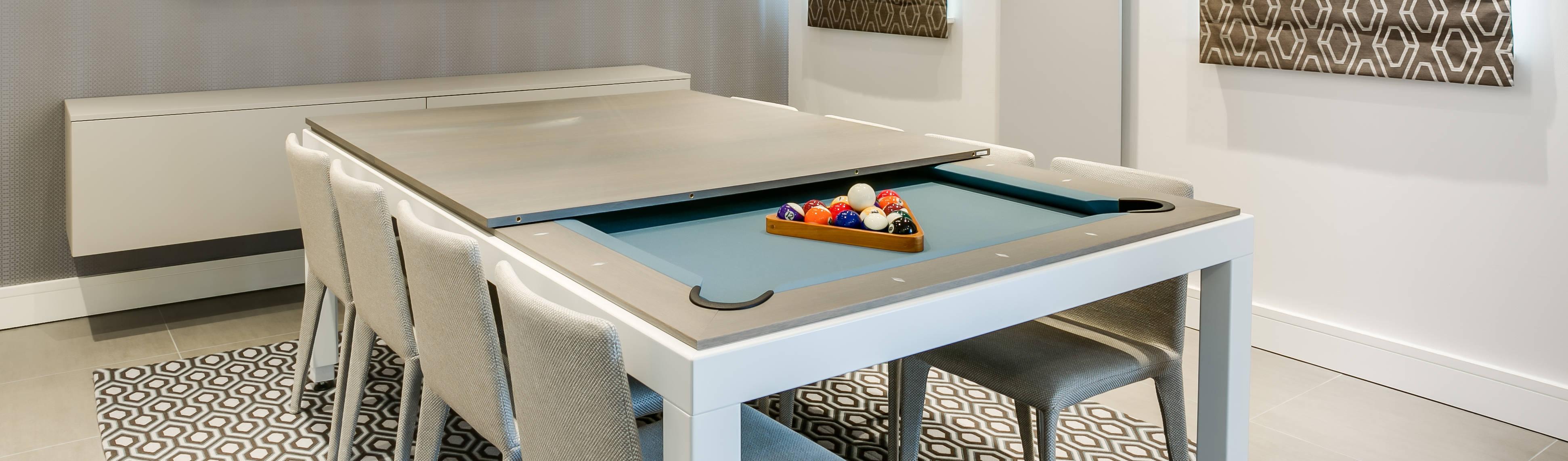 le billard table au design minimaliste fusiontables par fusion