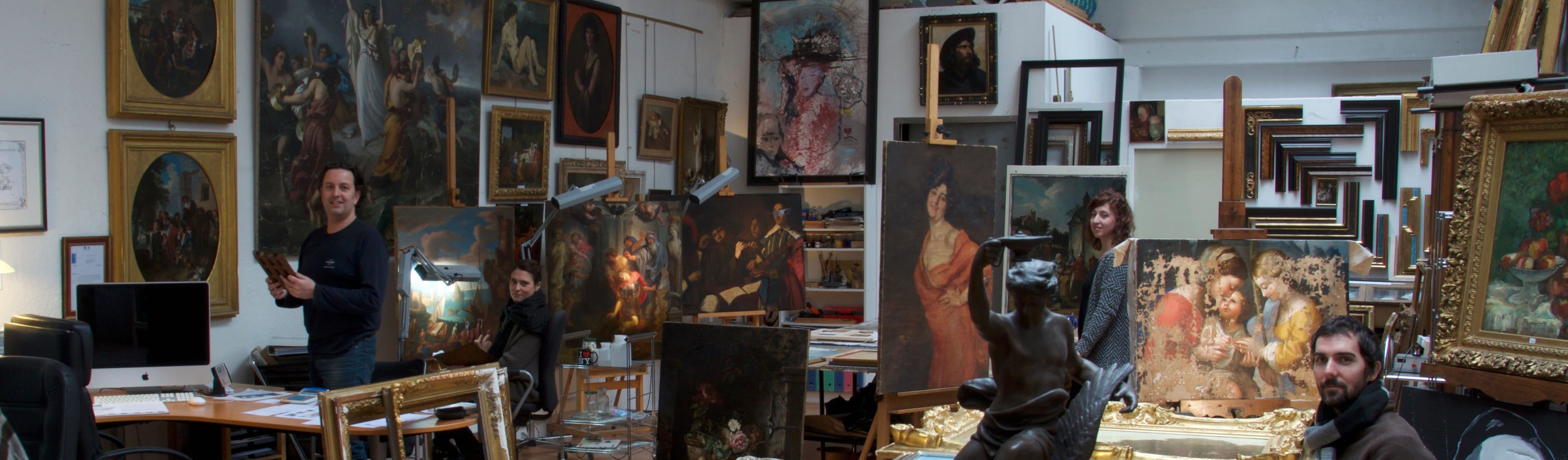 Atelier Aldo Peaucelle— Art & Patrimoine Conseil