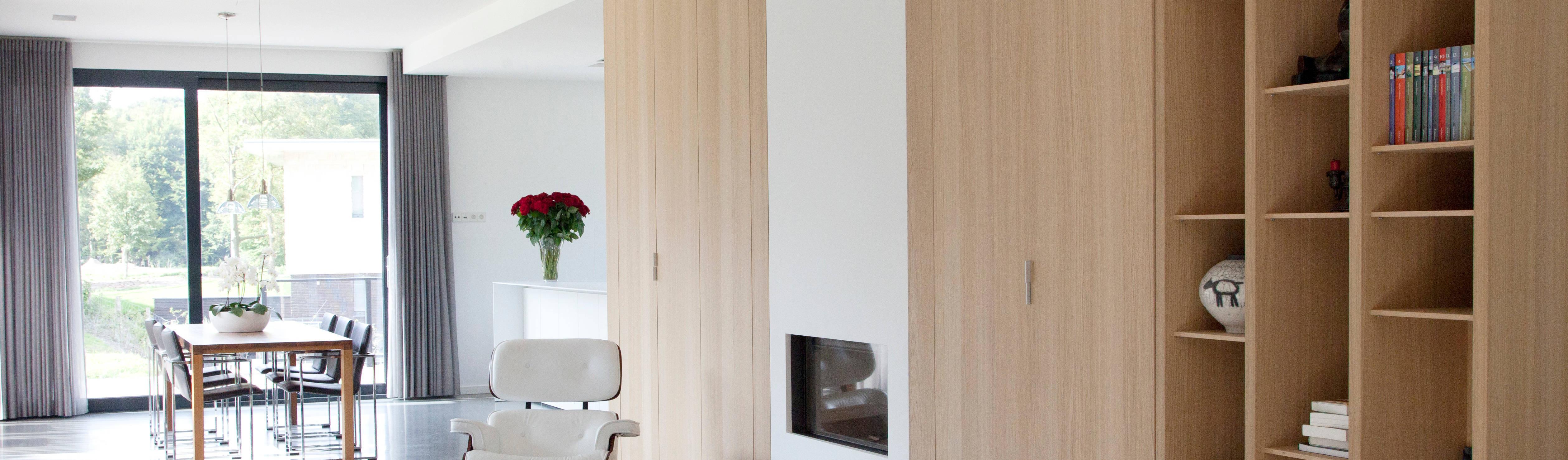 Moderne villa door archstudio architecten villa 39 s en interieur homify - Moderne entreehal ...