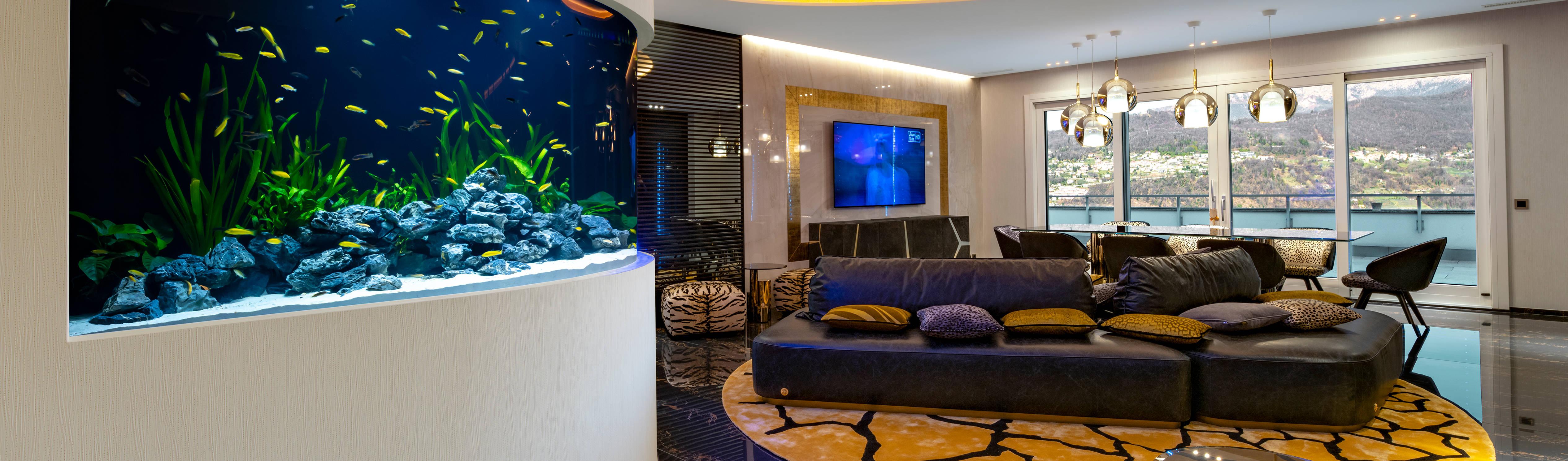 MELIK LUXURY Aquarium