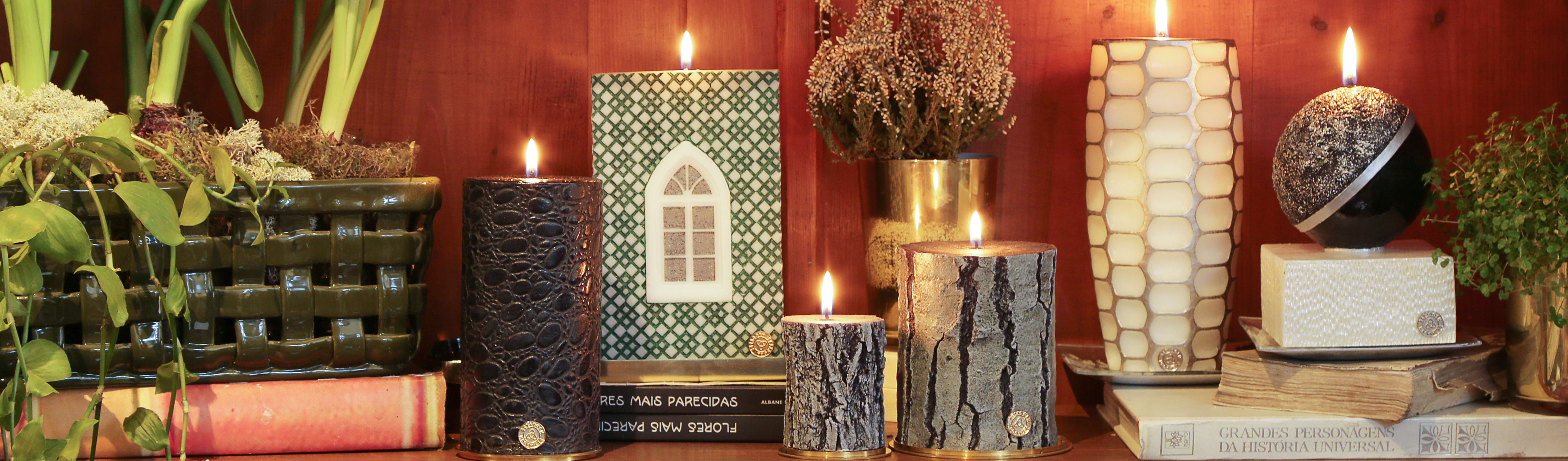 BE2ADORN-DECORATIVE CHARM CANDLES