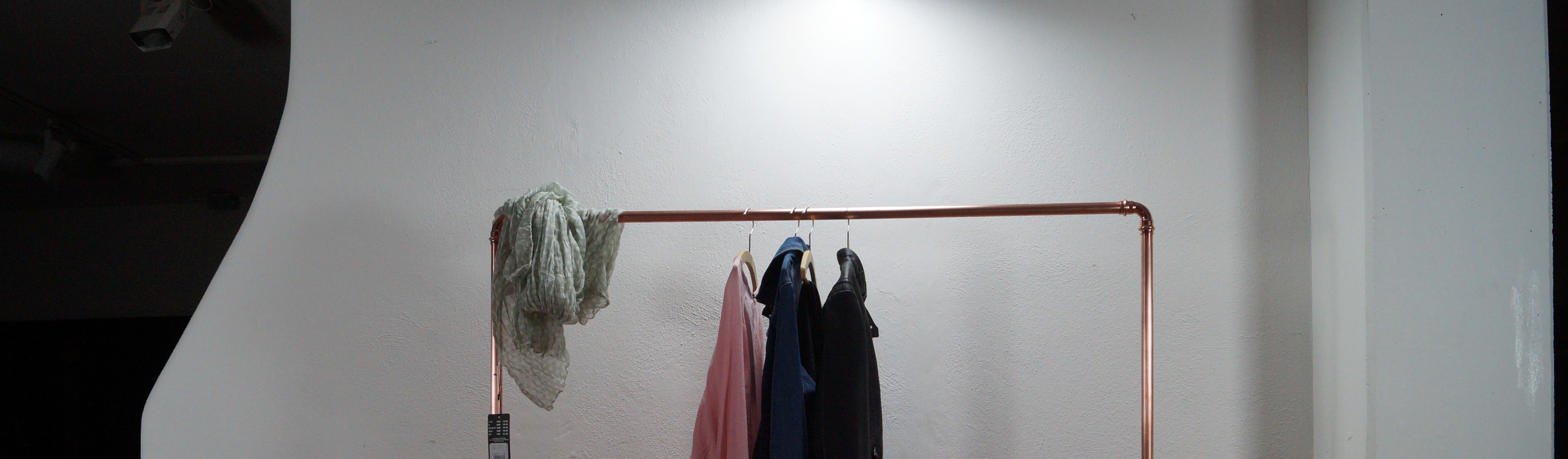 kleiderstange industry kupfer par ofen bräuer | homify
