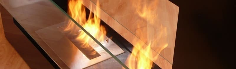 Clearfire—Lareiras Etanol