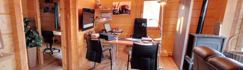 Casas de madera cuni constructores en espluga de francoli - Constructores de casas de madera ...